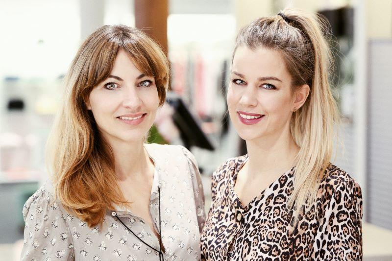 Nadine Hanke und Catharina Golder