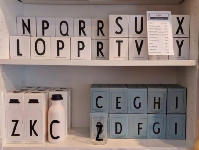 Design Letters bei Lykke