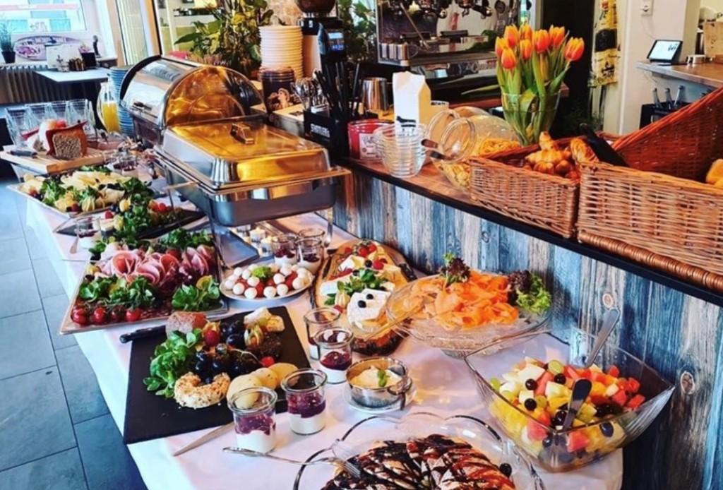Frühstücksbuffet Café Lavandou Ettlingen